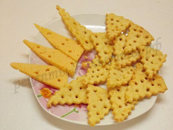 Печенье ''Кусочки сыра''