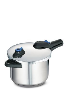 Tramontina  Select 6.3-Qt. 18/10 Stainless Steel Pressure Cooker - Stainless - 6.3 Quart