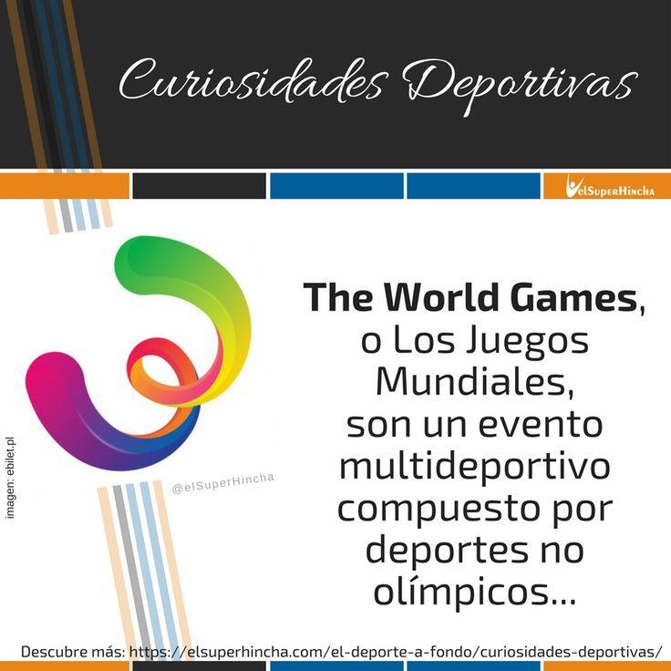 The World Games, los Juegos Olímpicos para Deportes no Olímpicos empiezan hoy. ¿Los conoces?