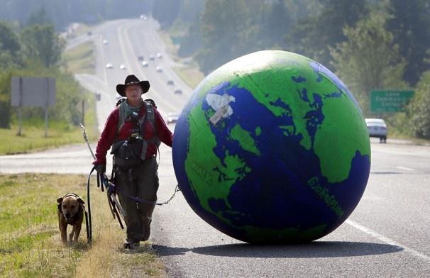 I take my world with me wherever I go.
