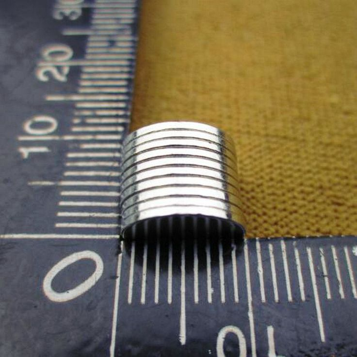 10Pcs 10*1 mm N50 Super Strong Rare Earth NdFeB Magnets Neodymium Magnet 10mm*1mm Round Cylinder Permanent Sheet