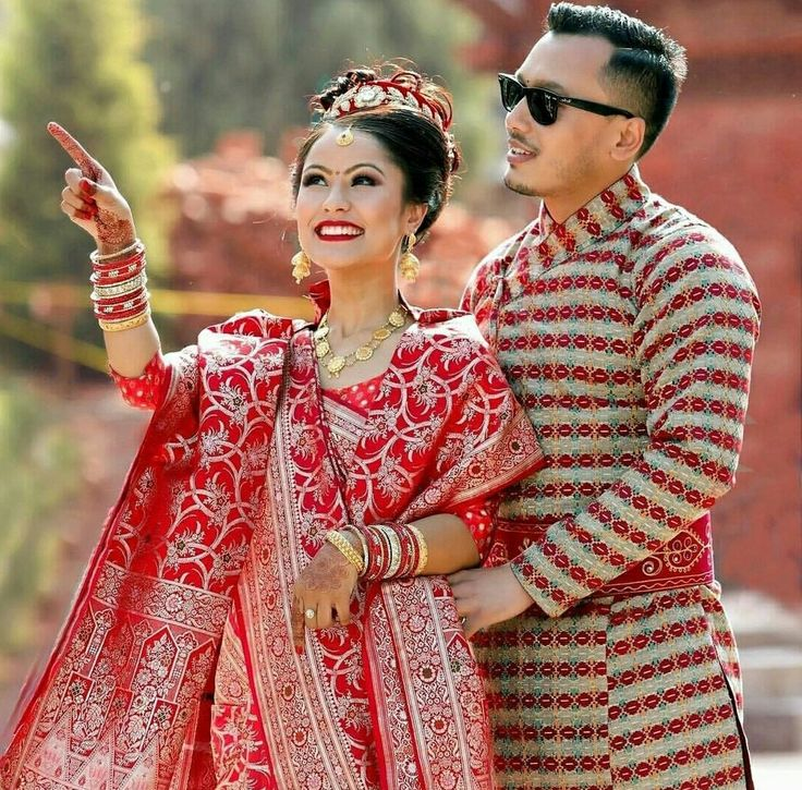 Nepali Wedding Dress For Bride Wedding Dress In 2019