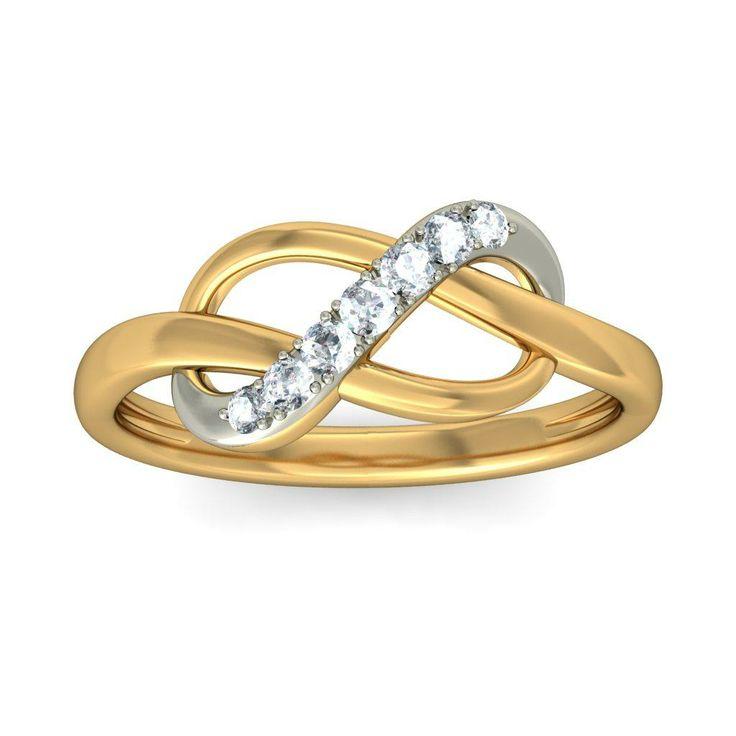 The Eavan Ring By BlueStone Gold Rings 18k Rings Women