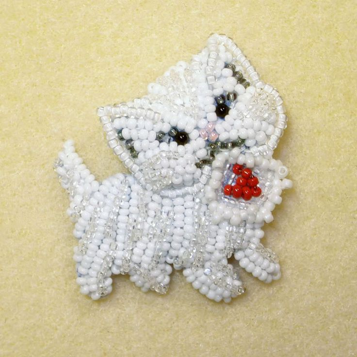 This week, I began working on a new custom order for my Etsy shop - my first bead embroidered purse! This will be a Victorian-style heart-shaped purse featuring a beaded cat & Scottie dog inspi...