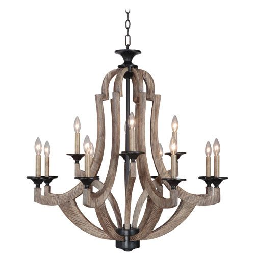 As captivating as it is comforting, the Winton Collection adds rustic luxury to your home. A distressed weathered pine and bronze finish creates textural interest when paired with antique white candle covers. Arms that appear hand carved bring soft sophistication. Winton is versatile enough to fit anywhere, but bold enough to stand out.