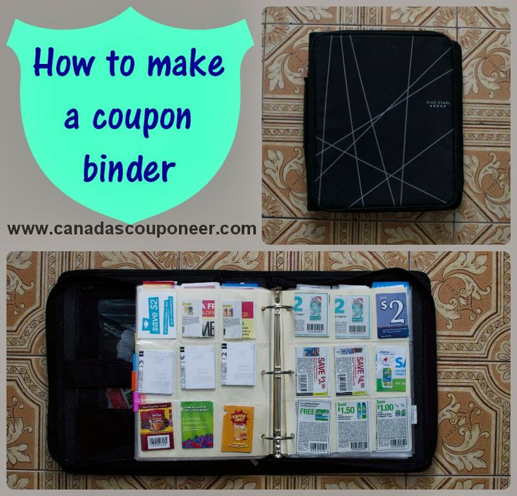 Learn how to make a super easy to use extreme couponing binder by reading my latest article! Get started with this easy to follow guide.