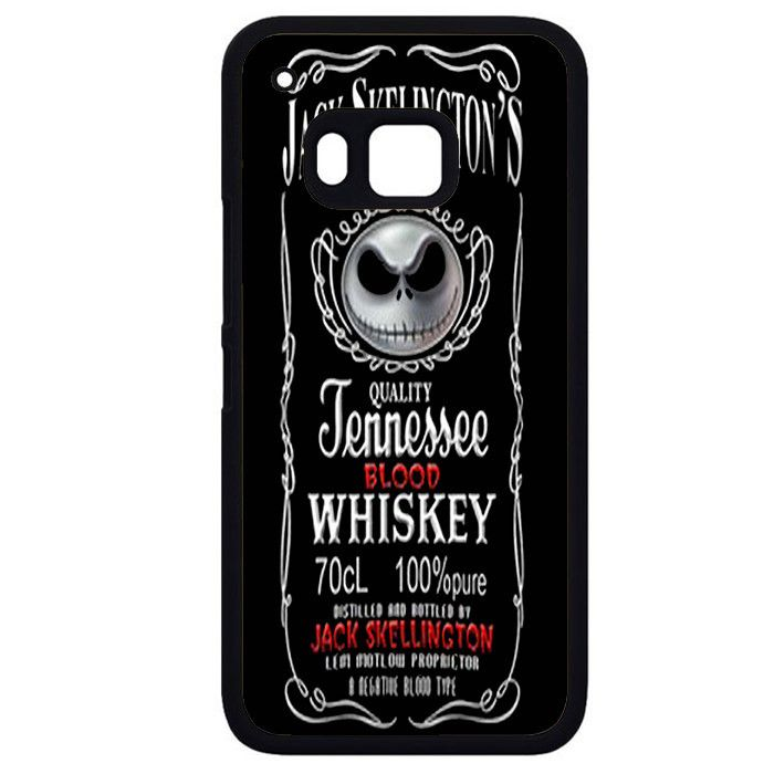 Jack Skellington Whiskey Logo HTC Phonecase For HTC One M7 HTC One M8 HTC One M9 HTC One X
