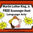 Martin Luther Kind Day:  Martin Luther King, Jr. FREE Sample -- Martin Luther King, Jr. is the theme of these fun language arts task cards. These c...