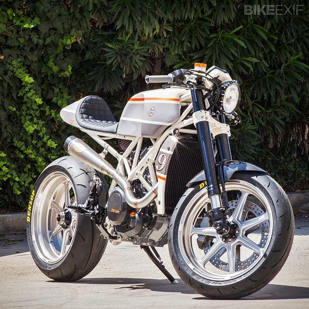 KTM 690 Enduro R by Roland Sands