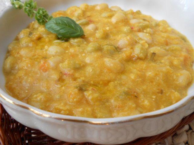 Barato y Rico mi Cocina Chilena: Porotos Granados con Mazamorra