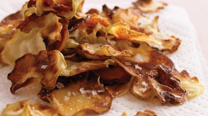 Kohlrabi Chips | Meat Free Living | Pinterest