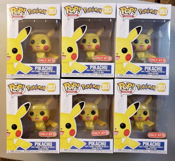 Target exclusive Pokemon Pikachu 353 Funko Pop! [w