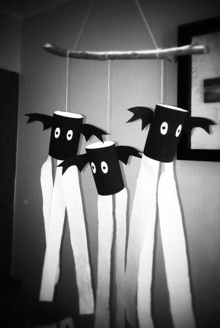 Murciélagos haloowen infantil