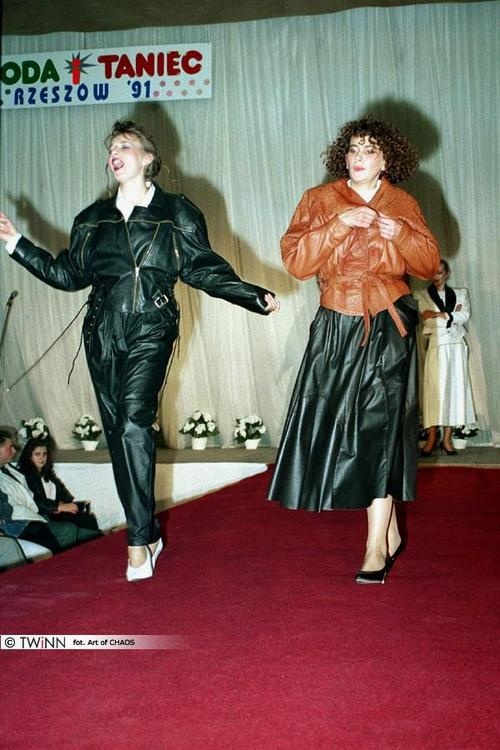 Photo from the event Fashion and Dance, 1991.