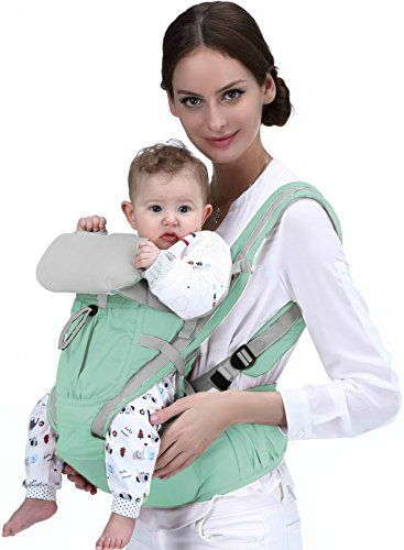 b076c3f97bf Baby Carrier-Ergonomic Baby Carrier Backpack-Baby Carrier Hip Seat-Toddler  Carrier-Easy to Put On 6 Safe and Comfortable Positions for Infant    Newborn-Baby ...