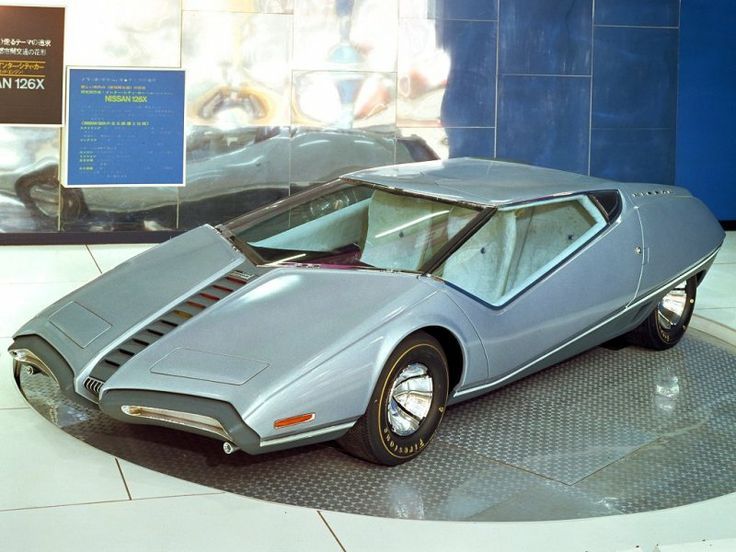 No its not from Thunderbirds, its the 1970 concept car from Nissan, the 126X