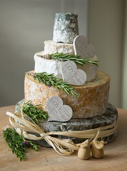 This wedding cheese cake has a superb mix of cheeses, suitable for all.  Will feed approx 90-100 people.  Cost £165