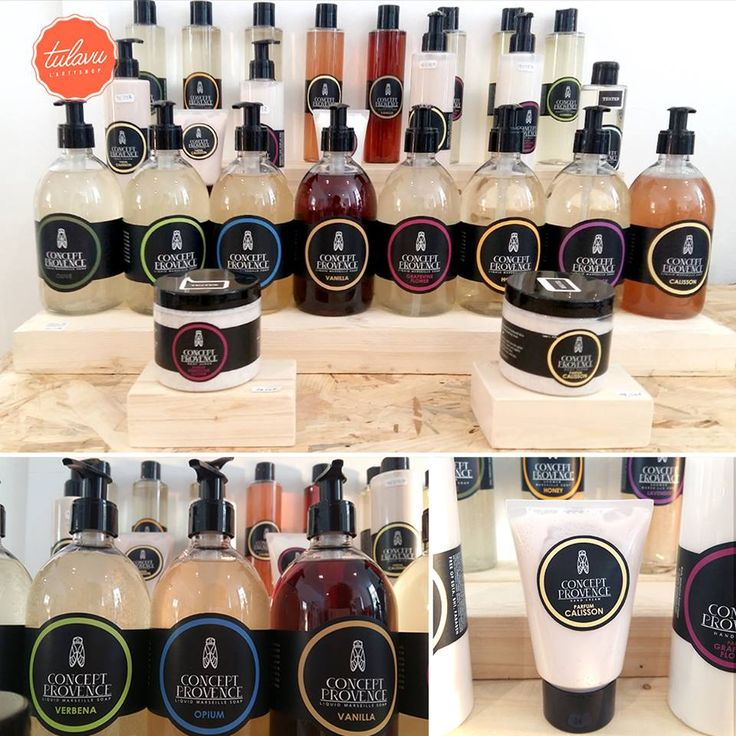 //CONCEPT PROVENCE// #Savons de #Marseille, #Crèmes, Lotions & Gommages #MadeInFrance - #MadeInProvence
