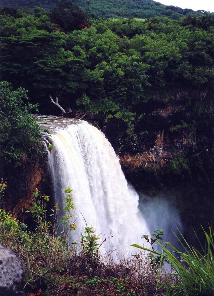 Kauai, HI (Travel to Hawaii to see the waterfalls)