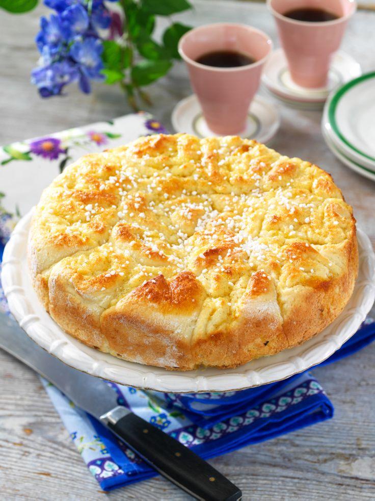 Baka en härlig solskenskaka och njut av solen. Receptet är fritt från gluten.