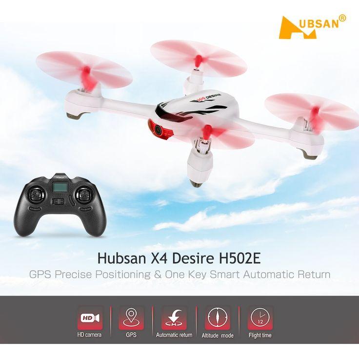 Drona Original Hubsan X4 Desire H502E, HD, GPS
