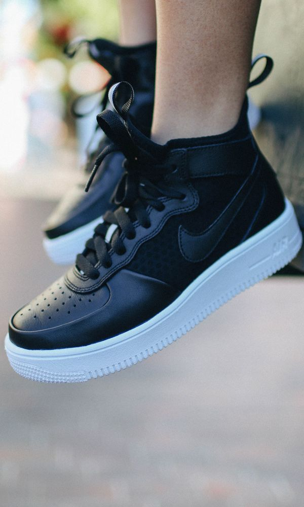 The Nike Air Force 1 Ultra Force Mid is