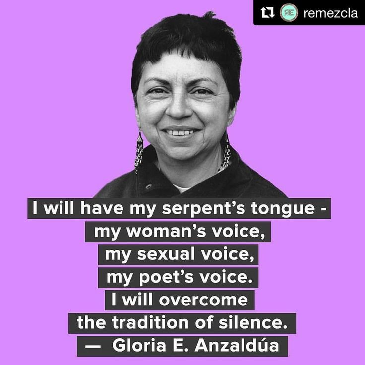 "141 Likes, 2 Comments - Global Fund for Women (@globalfundwomen) on Instagram: ""Your voice needs to be heard. #feministas #feministfriday #anzaldua #borderlands #repost via…"""