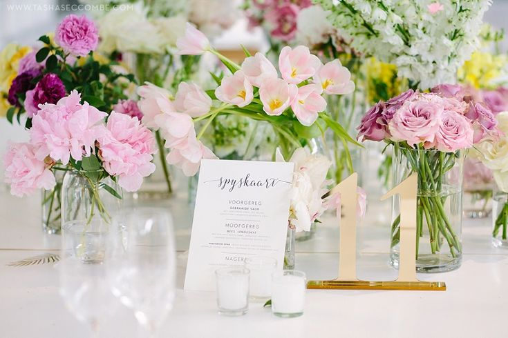 Soft, pretty flowers by Flowers in the foyer. Photo by Tasha Seccombe