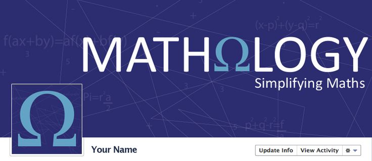 Mathology Facebook Cover & Profile Picture