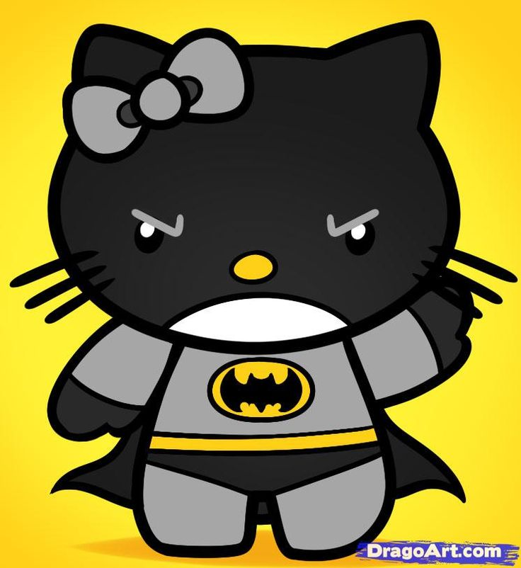 cute batman drawings