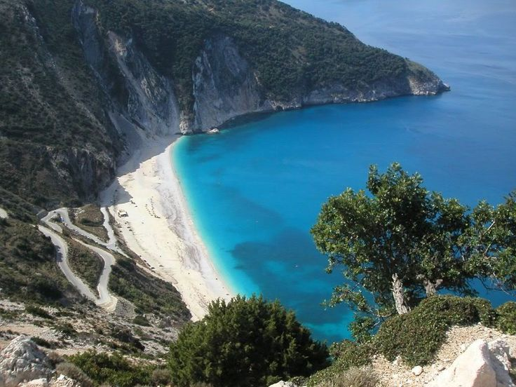 8 Myrtos beach, kefalonia island
