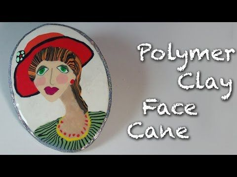 how to make a face out of polymer clay