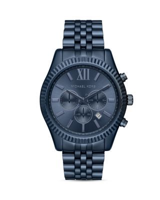 Michael Kors Slim Runway Bracelet Watch, 44mm   Bloomingdales's