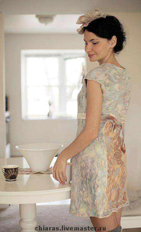 """Купить платье ручной работы """"Завтрак у Тиффани"""" - платье коктейльное, платье зимнее, Платье нарядное"""