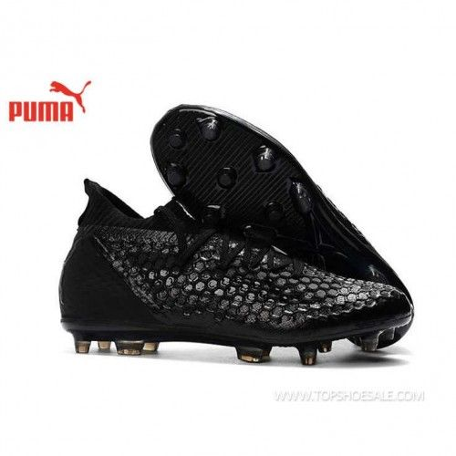 c38af02e5 2018 FIFA World Cup PUMA Future 18.1 Netfit FG 104488-02 Core Black  Football shoes