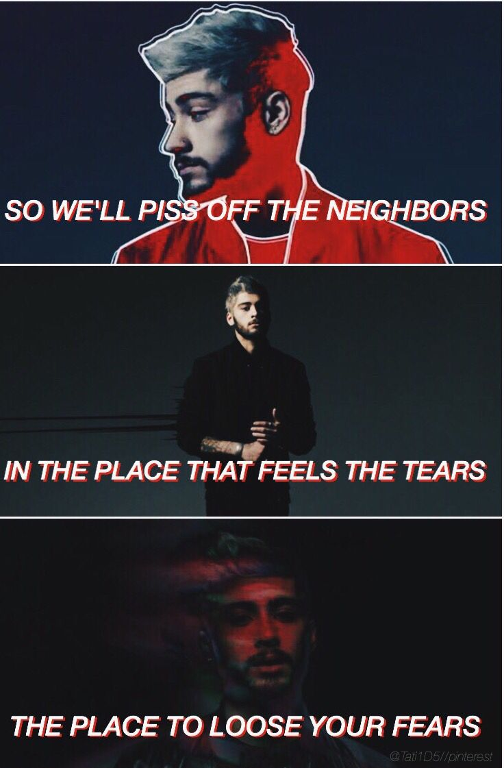 pillow talk // zayn malik ( cred : @Tati1D5 )