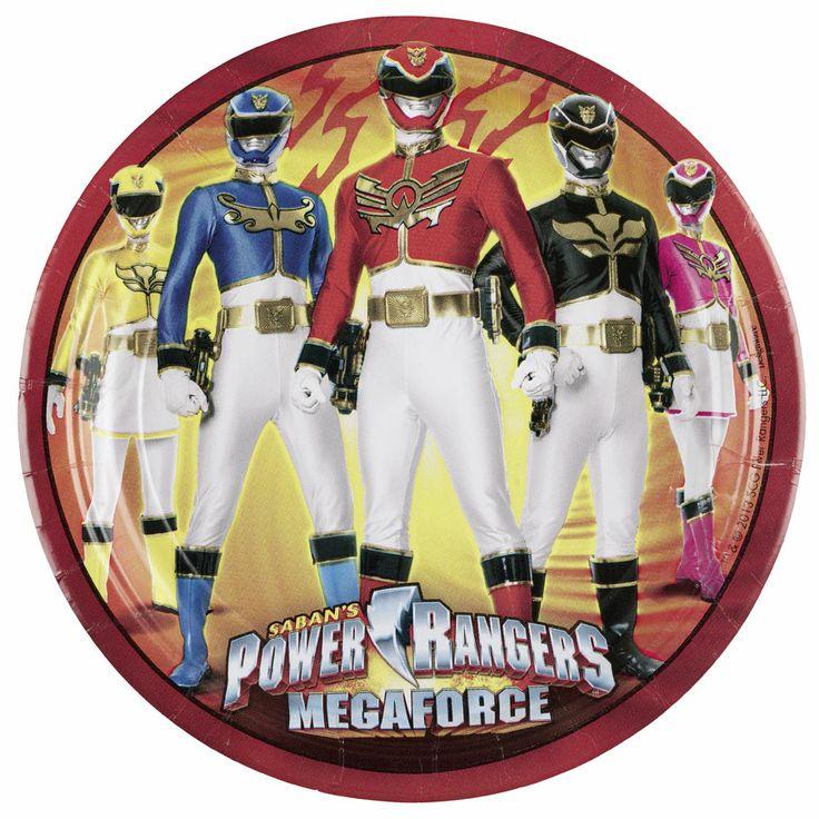 Thème d'anniversaire Power rangers  - Annikids