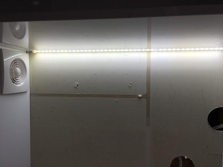#butlerspantry #appliancecupboard #lettherebelight #internallights #LEDstrip #exhaustfan #before #mynewkitchen #reno #kitchenreno #storage #home #corporatemamahome