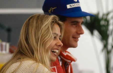 Ayrton Senna e Adriane Galisteu