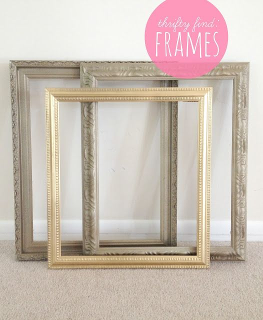 25 Best Ideas About Spray Paint Frames On Pinterest
