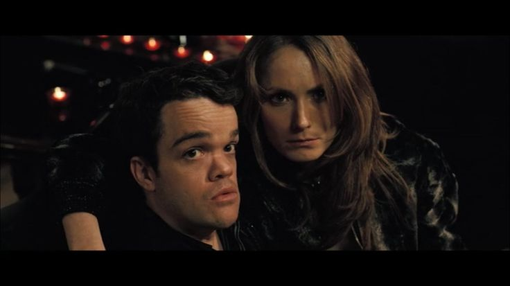 Couple goals. Jordan Prentice as Jimmy and Anna Madeley as Denise - In Bruges (2008)
