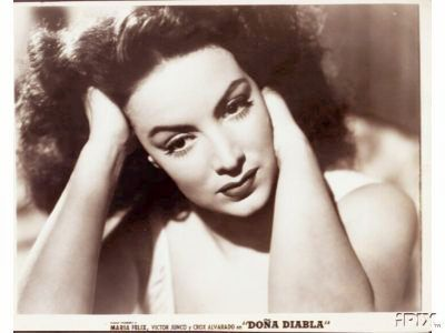 Maria Felix, Doña Diabla, Mexico.