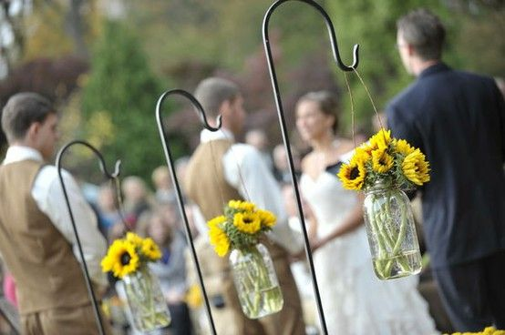 Sunflowers - Click image to find more Wedding & Events Pinterest pins