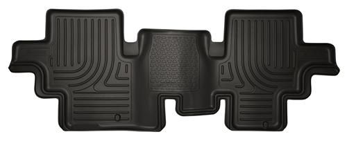 19651 Husky Liners WeatherBeater 2nd Seat Floor Liners Fitment 2013-2015 Infiniti QX60, Nissan Pathfinder