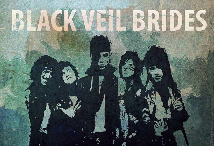 Black Veil Brides Illustration Album Art Print Band Poster Giclee on Paper Canvas and Cotton Canvas Grunge Wall Decor. Black Veil Brides band album music poster featuring illustration of band members on grunge style aesthetic. Detailed embellished paper texture for extra vintage effect. Perfect print for any Black Veil Brides fan. This print is available on high quality 60lb/230gsm paper canvas and (NEW!) premium 360gsm double woven cotton canvas. Paper canvas prints are borderless…