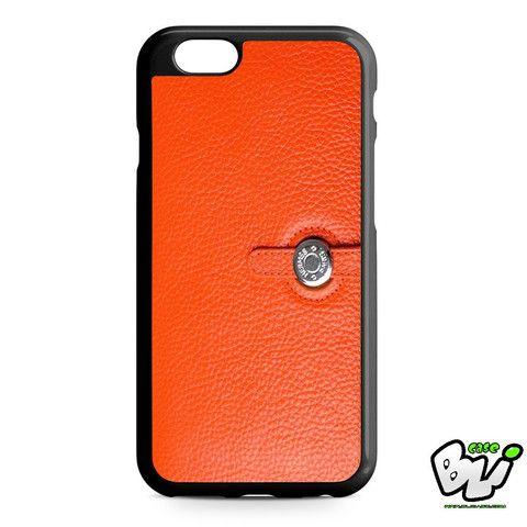 Hermes Wallet Orange iPhone 6 Case | iPhone 6S Case