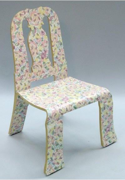 로버트 벤투리의 Queen Anne Chair입니다 패턴이 독특하죠 Decor Home