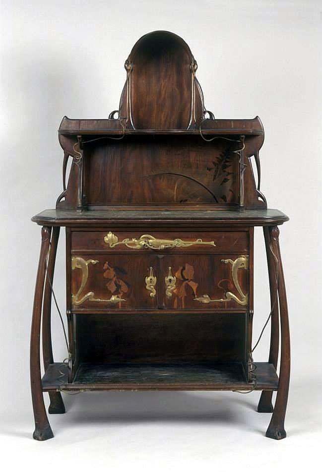 Louis Majorelle | Art Nouveau Desk - ca.1905.