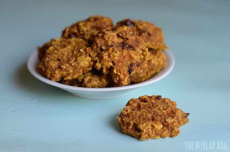The autumn 2 ingredient cookie - plus the mix-ins of your choice! -The Burlap Bag - pumpkin