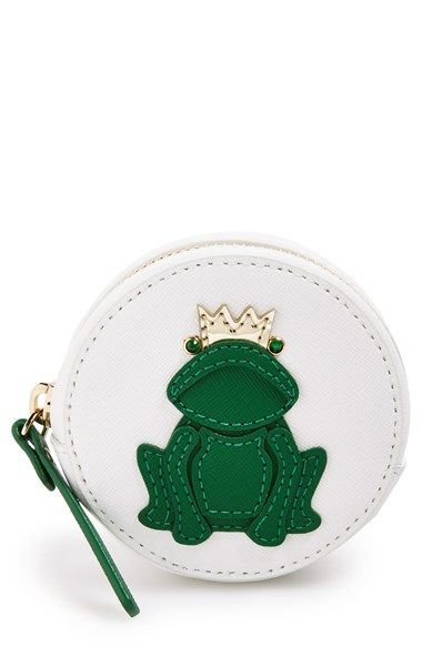 kate spade new york 'wedding belles frog' leather coin purse available at #Nordstrom: